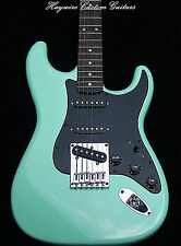 Fender Stratocaster Plus Surf Green Hard Tail body Modified with Lollar Pickups!