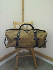 Filson Large Duffle Bag 223 70223 Tan Brand New With Tags Free Shipping
