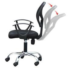 Black Adjustable Ergonomic Swivel Mesh Chair Durable Computer Office Desk New