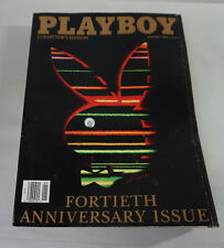 PLAYBOY January 1994 40th Anniversary - Ursula Andress - Playmate Review