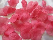 1000 PINKISH CORAL WEDDING  ARTIFICIAL  SILK  ROSE PETALS WEDDING