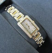 Citizen Womens Eco-Drive Solar Powered Watch Swarovski Crystals Water Resistant