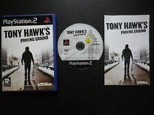 JEU Sony PLAYSTATION 2 PS2 TONY HAWK'S PROVING GROUND (Activision COMPLET suivi)