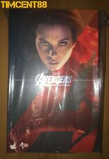 Ready! Hot Toys Avengers 2 Age of Ultron Black Widow AOU Scarlett Johanssan