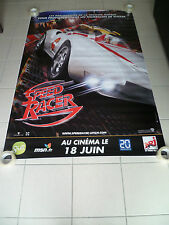 AFFICHE CINEMA ROULEE - SPEED RACER - PREVENTIVE - 120x160