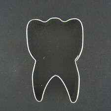 "TOOTH 3"" COOKIE CUTTER DENTIST FAIRY SWEET BABY TEETH BRUSH HYGIENE FONDANT"