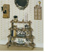 """Dollhouse Miniatures 1:12 Scale """"What Not"""" Stand Kit Item #CB2103"""