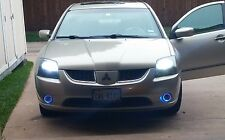 Blue Angel Eye 70w Fog Lamps Driving Lights Kit for 2004-2009 Mitsubishi Galant