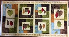 Patchwork Stoff Herbst Shadow Leaves Panel 60x110cm