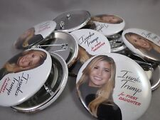 WHOLESALE LOT OF 22 IVANKA TRUMP FOR FIRST DAUGHTER BUTTON photo President $ '16