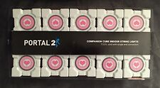 Portal 2 Original Companion Cube String Lights Officially Licensed Valve - New!