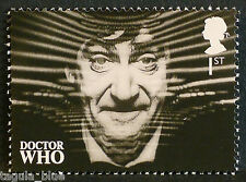 """DR WHO-Patrick TROUGHTON"" ILLUSTRATO su 2013 FRANCOBOLLI-U/M"