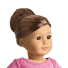 "American Girl MY AG CHIC BUN BROWN for 18"" Dolls  Extension Retired Hair NEW"
