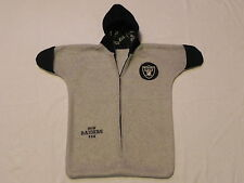 NHM - NFL -  OAKLAND RAIDERS FLEECE SNUGGY BABY BUNTING   0-6 MONTHS