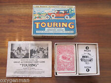 Vintage 1926 Parker Brothers TOURING Automobile Card Game 99 Cards Box Rules