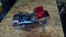 Rear Fender & Tail light Assembly from a 1982 Yamaha Virago 750