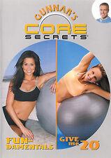 Gunnar Peterson's ~ Core Secrets ~ Fundamentals and Give Me 20 ~ DVD