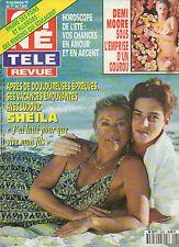 CINE REVUE 1996 N°22 sheila et ludovic ava gardner demi moore p. lafontaine