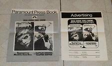 original FRANKENSTEIN &MONSTER FROM HELL CAPTAIN KRONOS VAMPIRE HUNTER pressbook