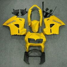 Yellow ABS Fairing Bodywork Kit For Honda VFR800 VFR 800 1998-2001 1999 2000 1A