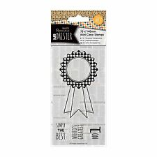 ROSETTE - MR MISTER COLLECTION PAPERMANIA / DOCRAFTS - CLEAR STAMP SET