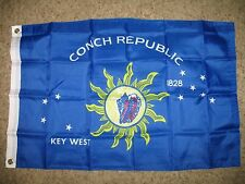 2x3 Key West Conch Republic Florida Keys SuperPoly Flag 2'x3' House Banner