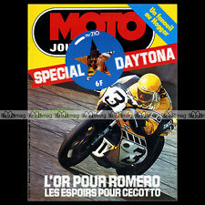 MOTO JOURNAL N°210 PANTHER 600, CÔTE LAPIZE, OFFENSTADT ★ SPECIAL DAYTONA 1975 ★