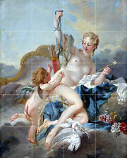 Art Neoclassicism Nude Mythology Ceramic Mural Backsplash Bath Tile #2151