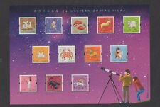 Hong Kong Western Zodiac Signs Miniature Sheet and MInt Stamps Set 2012