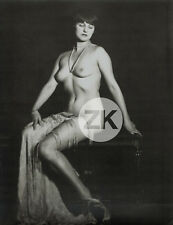 ALFRED CHENEY JOHNSTON Pin-up NU Ziegfeld Oversize Photo 1920s