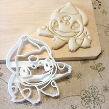 Bulbasaur Cookie Cutter - Pokemon Go Fondant Cake Cupcake Topper Monster Pikachu
