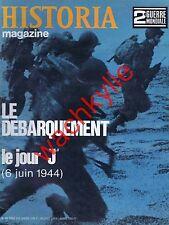 Historia magazine ww2 n°68 débarquement 6 juin 1944