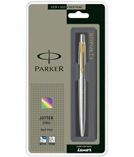 Parker Jotter Stainless Steel GT Ball Pen 100% Original Free Shipping From India