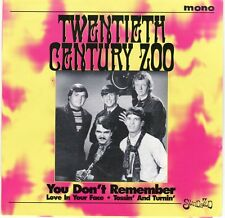 "New Arizona Garage Psych TWENTIETH CENTURY ZOO ""You Don't Remember"" two more"