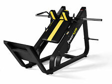 NEW PowerGym Fitness Commercial Olympic Hack Squat Slide Not Leg Press Machine