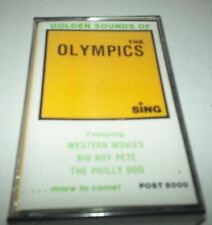 The Olympics- Golden Sounds of The Olympics Cassette SEALED