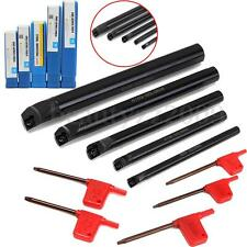 5pcs 8 10 12 16 20mm SCLCR Lathe Indexable Boring Bar Holder For CCMT+ Wrenches