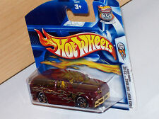 BOOM BOX bordeaux rot metallic Hot Wheels 03 HW Modell Auto weels Muscle Car Rod