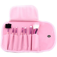 Pro 7 pcs makeup brush tools Foundation Make up Blush Powder brush With case
