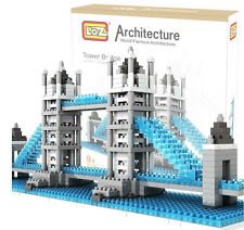 LOZ Nano Architecture Britain UK LONDON Tower Bridge Model Building Block Toy AA