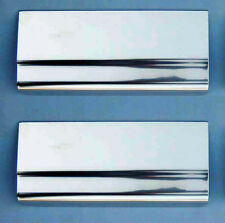 Back Car Ford Focus & C Max 05-10 Stainless Kick Plate Door Sill Protectors K03R