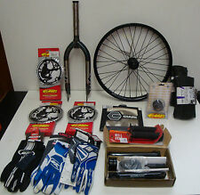 LOT DE PIECES DE VELO BICROSS BMX MOTOCROSS VTT
