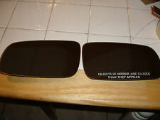 VOLKSWAGEN LEFT,RIGHT MIRROR, JETTA, GOLF, GTI MK4 AND CABRIO MK3.5, OEM HEATED.