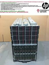 HP C7000 8Gbit 79.2TB SAN Solution 16x HP BL460c Gen8 E5-2650 1024GB RAM