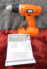 Black+Decker GC1800 18-Volt Cordless Drill/Driver (Bare Tool Only) #1143