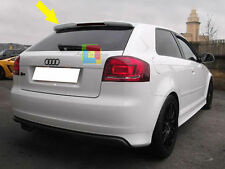 AUDI A3 8P 2003-2012 3 PORTE SPOILER TETTO ALETTONE RS3 IT