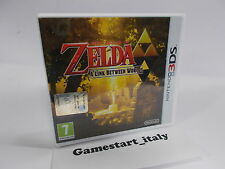 ZELDA A LINK BETWEEN WORLDS - NINTENDO 3DS - USATO COME DA FOTO