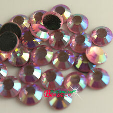 1440 ss10 3mm DMC faceted Glass Iron-on Hot-fix Rhinestone Crystal Flatback bead