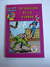 CAPTAIN AMERICA  n° 13 : le faucon et la vipère  / Artima Color Marvel