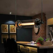 Retro Industrial Vintage Flute Ceiling Light Pendant Lamp Kitchen Bar Hanging